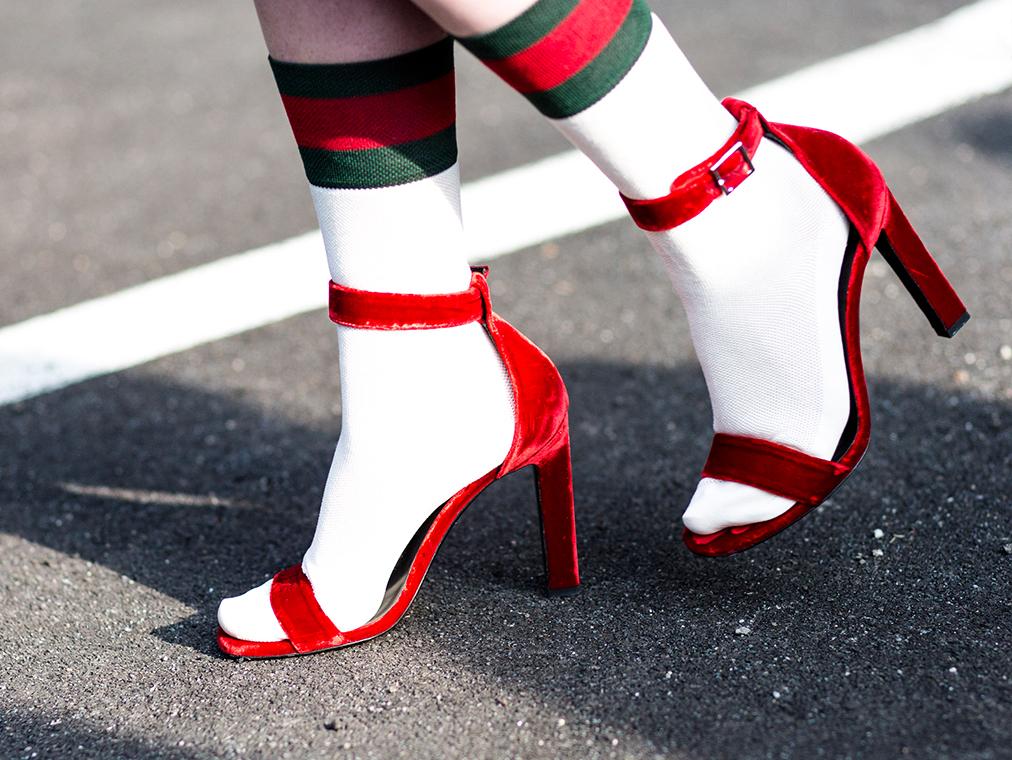 Bringing Back Socks And Sandals Dressnote